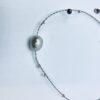 krótki naszyjnik z perłami, ludzie oceanu, żywioł wody, #perły, IMG_5220