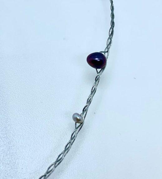 krótki naszyjnik z perłami, ludzie oceanu, żywioł wody, #perły, IMG_5228